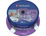 Verbatim 43667 blank DVD 8.5 GB DVD+R DL 25 pc(s)
