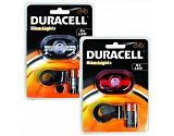Duracell BUN0046A flashlight Bike flashlight Red, Transparent LED