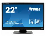 "iiyama ProLite T2252MTS-B5 21.5"" 1920 x 1080pixels Multi-touch Tabletop Black touch screen monitor"