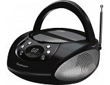 Goodmans GPS06BLK Analog 6W Black portable stereo system