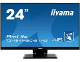 "iiyama ProLite T2454MSC-B1AG touch screen monitor 60.5 cm (23.8"") 1920 x 1080 pixels Black Multi-touch Multi-user"