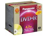 Panasonic DVD+R Disc 4.7GB 10er Pack 10 pc(s)